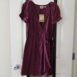 Formal wrap dress